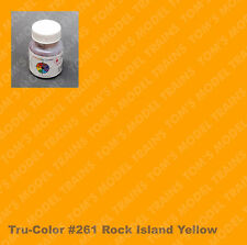 261 Tru-Color Paint Rock Island Yellow