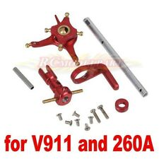 CNC Alloy Metal Upgrade Set for 2.4G WL V911 Nine Eagles 260A Micro Helicopter R