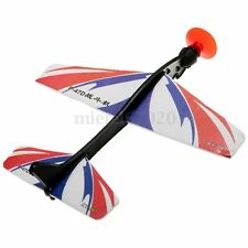 Educational Rubber Band Catapult Plane Model Slingshot Airplane Sucker Kids Toy