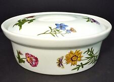 "BIA Cordon Bleu ""Carolina"" Ceramic Oval Covered Floral Casserole 1.5 Qt.Dish"