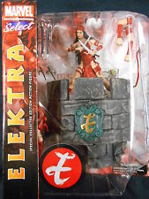 "MARVEL SELECT ""Elektra"" Action Figure (DIAMOND SELECT) NUOVO!"