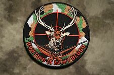 "Deer Hunter ""Hunting is in my blood"" Patch"