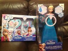 Disney Frozen Skate and Sing Elsa and Frozen Electronic Diary (you get Both)
