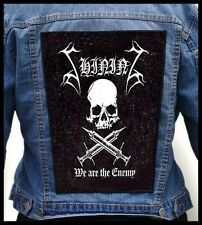SHINING - We Are The Enemy   --- Giant Backpatch Back Patch