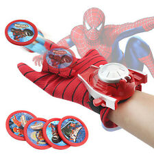 Marvel Superhero Spider-Man Launchers Gloves Cosplay Costume Kids Roleplay Toy