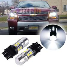 High Power White CREE LED Bulbs For Chevy GMC Dodge Ford Daytime Running Lights