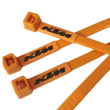 KTM Motorcycle Logo Printed Cable Ties in Orange Repairs Done in Style 20pc pack