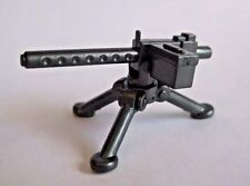 BrickArms M1919 Machine Gun w/ Tripod for Lego Minifigures NEW WW2 Soldier