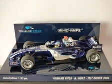 Minichamps Williams F1 Team Williams FW28 A. Wurz Test Driver 2006 no: 400060035