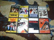 80s R&B Pop 8 CASSETTE LOT Cover Girls ROCKWELL Sheena Easton JETS New Edition
