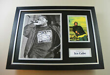 Ice Cube Signed Photo Framed 16x12 Autograph NWA Straight Outta Compton Display