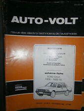 Ford ORION 1300 1600 GL : Revue Autovolt 600