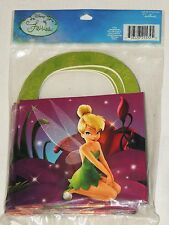 NEW DISNEY TINKERBELL 4- FAVOR/TREAT BOXES   PARTY SUPPLIES