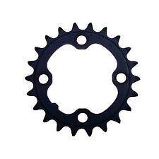 Shimano 22T MTB Crank Small Chainring 4-Bolt 9Spd 64BCD FC-M430 Black Alivio