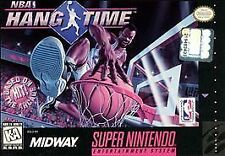 NBA Hang Time (Super Nintendo Entertainment System, 1996) SNES GAME ONLY NES HQ