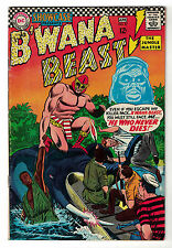 DC Comics SHOWCASE PRESENTS B'WANA BEAST No 67 He Who Never Dies! FN-