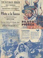 Programa PUBLICITARIO de CINE: Piloto a la fuerza.