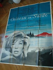MONICA VITTI SAGAN CHATEAU EN SUEDE 1963 RARE AFFICHE FRENCH POSTER