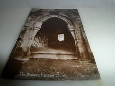 Llanaber WALES   The Doorway Llanaber Church POSTCARD VINTAGE GOOD CONDITION