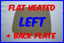 JEEP CHEROKEE LIBERTY 01-07 WING MIRROR GLASS FLAT HEATED + BACKING PLATE LEFT