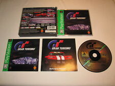 Gran Turismo (PlayStation PS1) GH Greatest Hits Game 100% Complete Vr Nice!