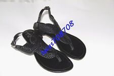 G by Guess size 6 used summer sandals black