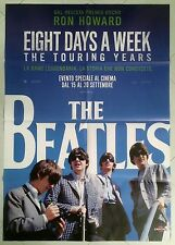 MANIFESTO 2F THE BEATLES EIGHT DAYS A WEEK  RON HOWARD JOHN LENNON  MCCARTNEY