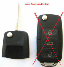 replacement uncut key head ONLY VW Passat  HLO1J0959753F keyless entry remote