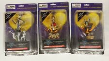 Lot of 3 KINGDOM HEARTS figures: Sora, Donald Duck, Jack Skellington NIB