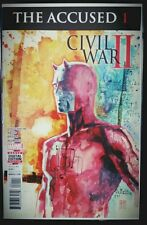 THE ACCUSED #1 (MARVEL 2016 Comics) NM - Civil War II