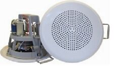 "BK-560(T) – DNH, 5"" 6W Ceiling Mount Speaker, Spring Clamps for Fast Mounting"