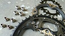 Shimano SLX Chainrings 10 Speed (22+32+44t) + BOLTS Mountain Bike (SET OF 3) NEW