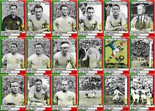 Italy 1934 World Cup winners football trading cards