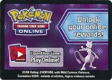 1x Pokemon Mewtwo Collection Box Unused TCG Online Code Card