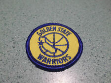 VINTAGE NBA GOLDEN STATE WARRIORS 2 INCH ROUND IRON ON PATCH