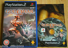 GOD OF WAR for SONY PS2 & (60GB VERSION PS3 VERS ONLY) COMPLETE