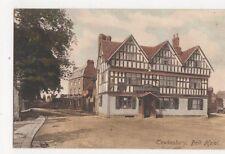 Tewkesbury Bell Hotel Vintage Postcard 201a