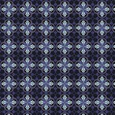 1:12th Bleu Et Noir Emboîtement Design Feuille De Carrelage Avec Noir Joint