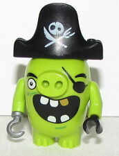 Lego New Pirate Pig From Set 75825 Angry Birds Movie Figure