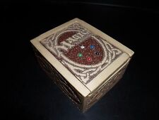MTG Very Rare Resin Deck Box 1995 Wizards of the Coast Magic The Gathering
