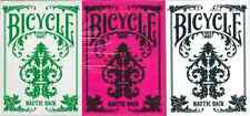 Bicycle Nautic Back Playing Cards 3 Deck Set - Limited Edition - SEALED
