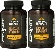 Onnit Labs Alpha Brain 90 caps (2 Pack)