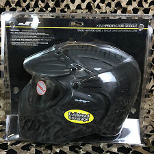 NEW JT X-Ray PROtector Full Coverage Paintball Mask Goggle - Single Lens - Black