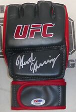 Heath Herring Signed UFC Glove PSA/DNA COA 87 73 82 69 Pride FC 23 19 Autograph