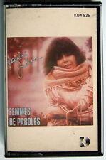 CASSETTE DE PAULINE JULIEN, FEMMES DE PAROLES