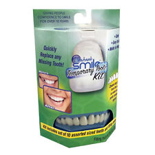 INSTANT SMILE TEETH REPLACEMENT KIT Easy temporary tooth fix NATURAL COLOR