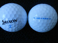 "20  SRIXON  "" AD333 ""  Golf Balls -  ""A"" Grade. - *SPECIAL OFFER*"