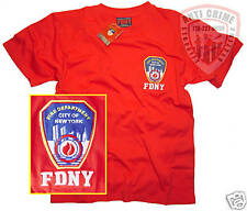 FDNY-NY FIRE DEPT/CLOTHING/APPAREL/GEAR/T-SHIRT/RD/MED