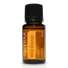 doTERRA Wild Orange Pure Essential Oil 15ml Citrus Uplifting Energizing Cooking