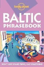 Lonely Planet Baltic States Phrasebooks (Lonely Planet Phrasebook: India)